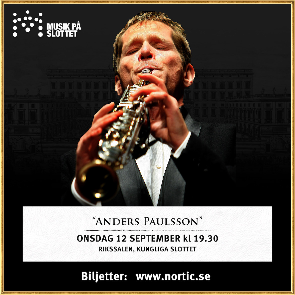 Anders Paulsson och Royal Palace          Chamber Orchestra